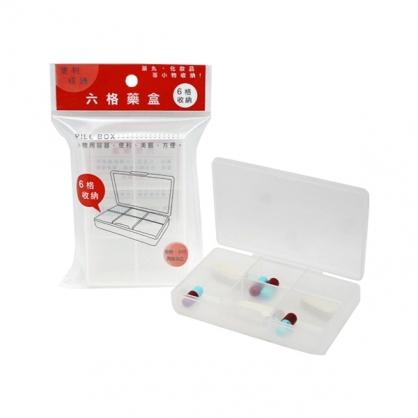 W.I.P 六格藥盒 /個 LPB1560