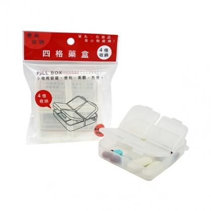 W.I.P 四格藥盒 /個 LPB1540