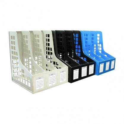 W.I.P 三格組合式雜誌箱 /個 AH718