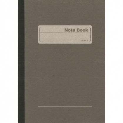 加新 25K灰皮 平裝筆記 (入數60)  10本/包 80225060