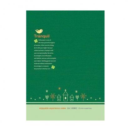 美加美 25K大格加厚-寧靜樹林綠 5本 / 包 AF1631