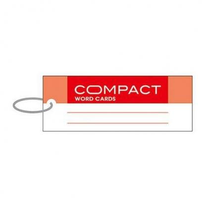 美加美 compact單字記憶卡-長紅 3個 / 包 AO3104