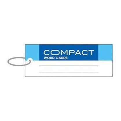 美加美 compact單字記憶卡-長藍 3個 / 包 AO3106