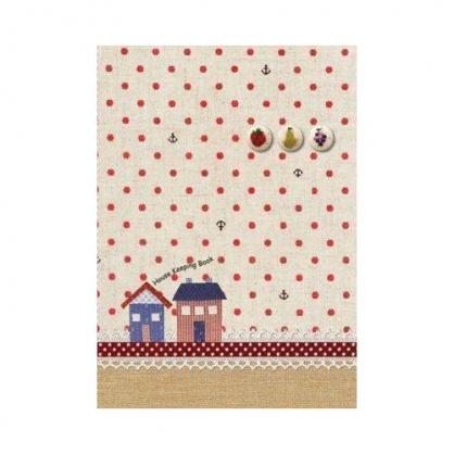 美加美 家計簿-水果 3本 / 包 AF7001