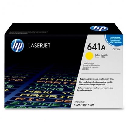 HP 黃色 原廠碳粉匣 / 個 C9722A 641A