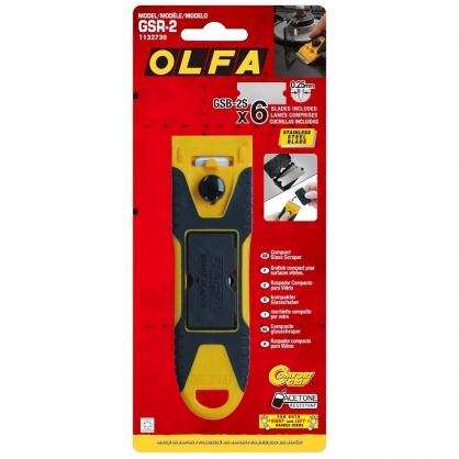日本 OLFA 輕巧玻璃專用刮刀 /支 (日本包裝型號232B型) GSR-2