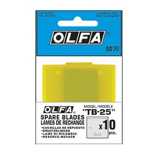 日本 OLFA 刮刀替刃 10片/包 TB-25