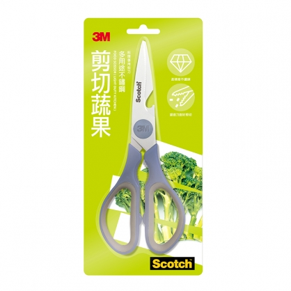3M Scotch 剪切蔬果 料理專用剪刀 廚房剪刀 /支 KS-P100