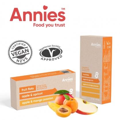 【壽滿趣-Annies】紐西蘭全天然水果條-(杏桃+百香果)