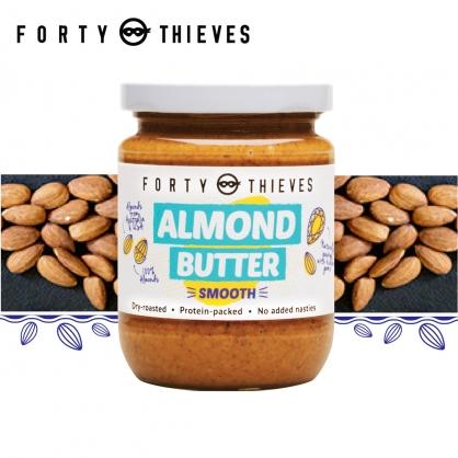 【壽滿趣-Forty Thieves】紐西蘭頂級絲滑杏仁醬(235g)