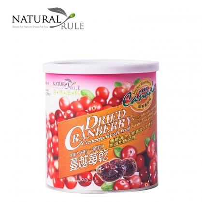 【壽滿趣-自然法則】整粒蔓越莓乾(200g)