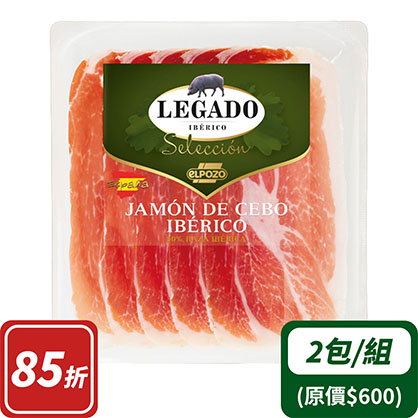 伊比利豬生火腿切片Cebo等級60gx2