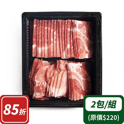小肉片x2(台灣加賀豬)