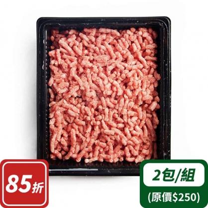 豬腰內肉寶寶絞肉x2(台灣加賀豬)