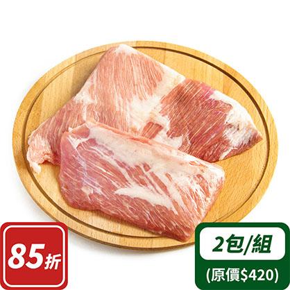 霜降豬肉x2(台灣加賀豬)