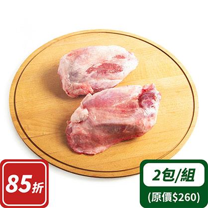 豬腱子肉x2(台灣加賀豬)