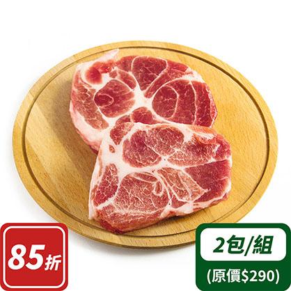 梅花肉塊x2(台灣加賀豬)