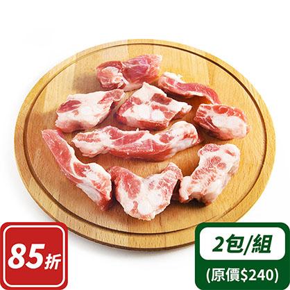 豬肋軟骨x2(台灣加賀豬)