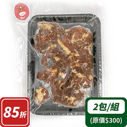 和風霜降牛燒肉片×2