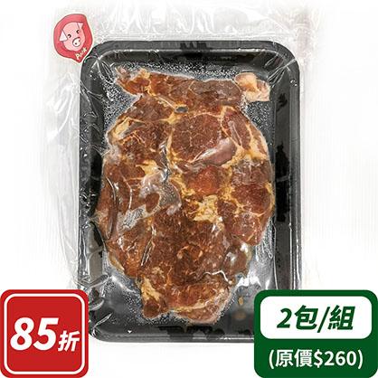 和風梅花豬燒肉片×2