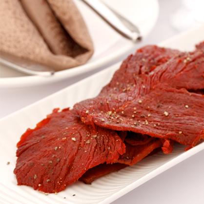 《阮的肉干》爆漿牛肉干正黑胡椒