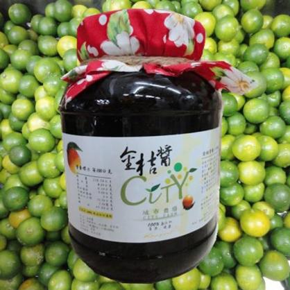 【城市農場】金桔果茶醬