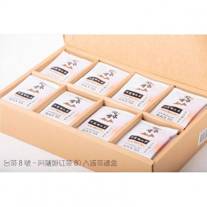 台茶8號●阿薩姆紅茶●80入袋茶禮盒(每袋2.2g)