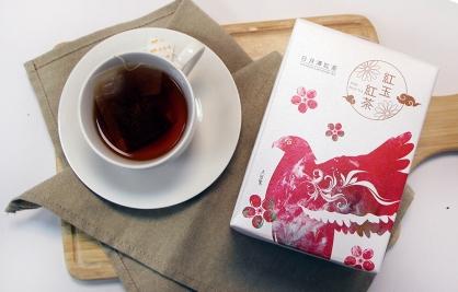 拾參村生態主題袋茶禮盒(紅玉紅茶20入)-大冠鷲