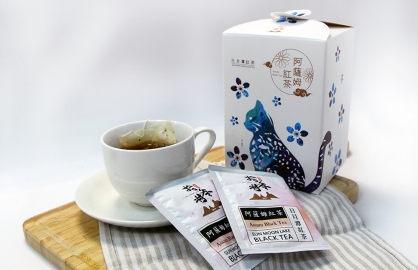 拾參村生態主題袋茶禮盒(阿薩姆紅茶20入)-石虎