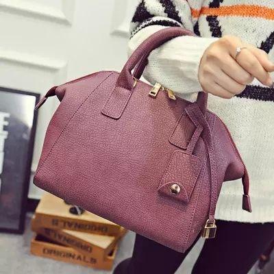 歐美時尚波士頓包 手提包