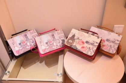 歐美時尚印花箱型手提包 單肩斜挎包