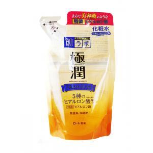 ROHTO金極潤保濕化妝水170ML(補充包)