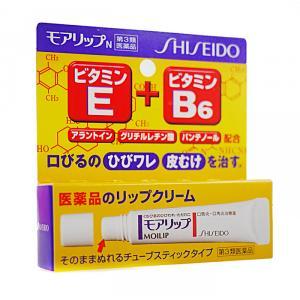Shiseido資生堂開架 維他命+B6藥用護唇膏