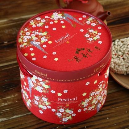 【泉利米香】婚慶禮盒米香餅:8入