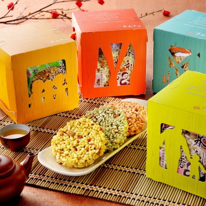 【泉利米香】時光寶盒(24入/4盒/組)-(2組)(免運)