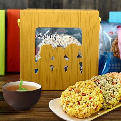 【泉利米香】麻吉時光盒(6入/盒)-(3盒)(免運)