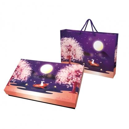 中秋星夜禮盒(米月餅x6,小米香x8)