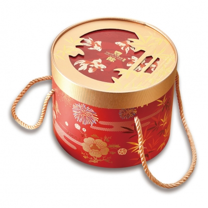 新春豐餘禮盒:10入米香餅