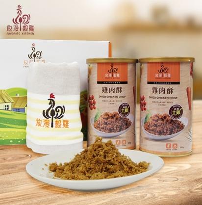 【立瑞畜產】土雞肉酥禮盒組(3盒/組)