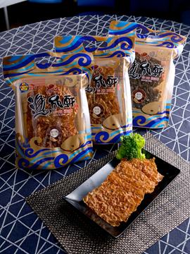 海鮮脆片組-6包裝(櫻花蝦、海藻、墨魚)