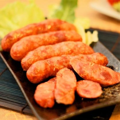 【阿里棒棒】飛魚卵哇沙米香腸(5入/包)