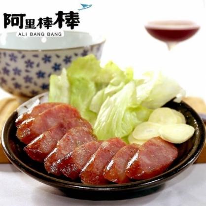 【阿里棒棒】飛魚卵黑后紅酒香腸(5入/包)