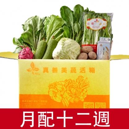 蔬活箱-月配型(12週)