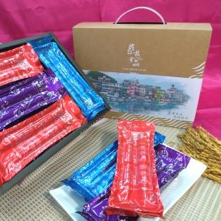 【蔡技食品】綜合夾心手工蛋捲24入(內有12包,一包2入)(免運)