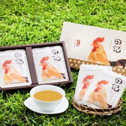【鮮綠農產】聯名【田記】溫體鮮雞精禮盒(10入/盒)