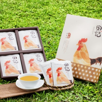 【鮮綠農產】聯名【田記】溫體鮮雞精禮盒(20入/盒)