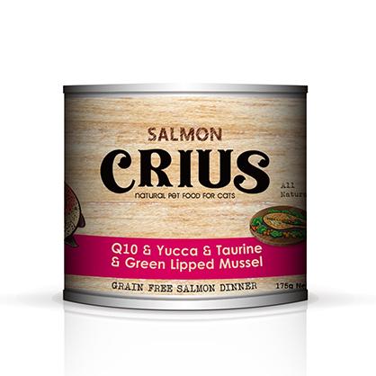 克瑞斯 無榖貓用主食餐罐 (野生鮭)