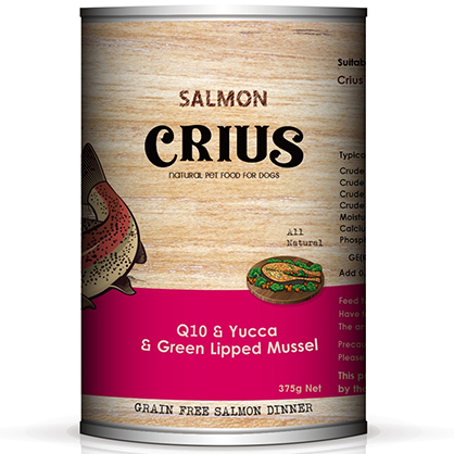 克瑞斯 無榖犬用主食餐罐 (野生鮭)