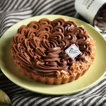 生巧克力塔