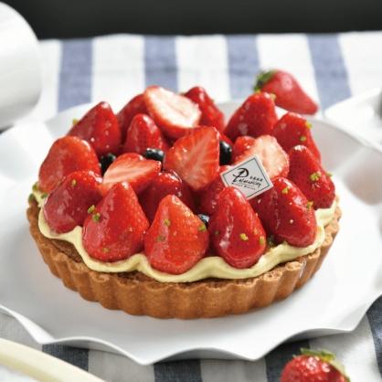 繽紛草莓塔